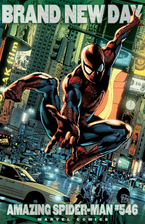 Amazing Spider-Man (1999) #546 (Variant)