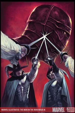Marvel Illustrated: The Man in the Iron Mask #6