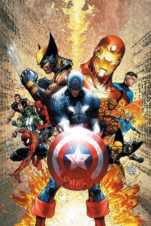 Civil War #1  (Turner Variant)
