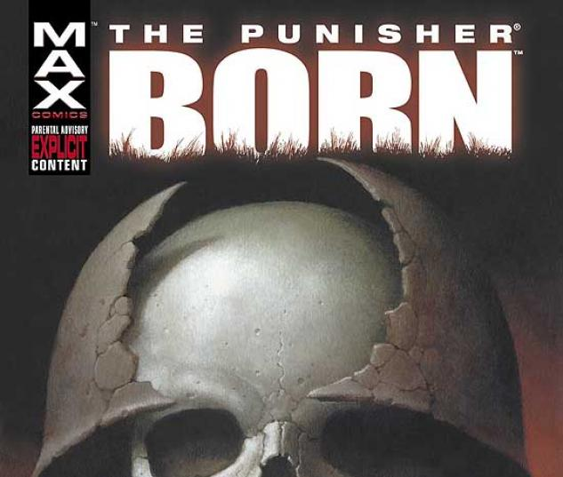 PUNISHER: BORN COVER