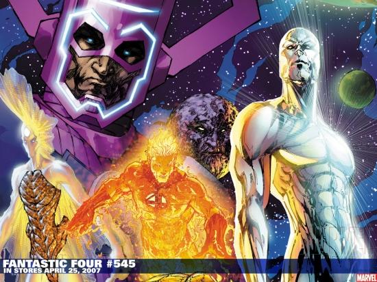 Fantastic Four (1998) #545 Wallpaper