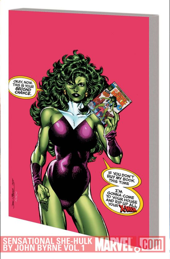 SENSATIONAL SHE-HULK BY JOHN BYRNE VOL. 1 TPB (Trade Paperback)
