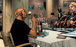 Ultimate Thor and Nick Fury's first meeting