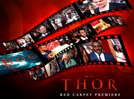Relive the thor Red Carpet Premiere