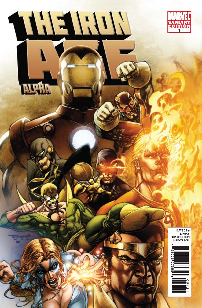 Iron Age: Alpha (2010) #1 (Segovia Variant)