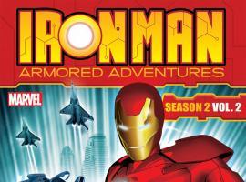 Iron Man: Armored Adventures Season 2, Vol. 2 box art
