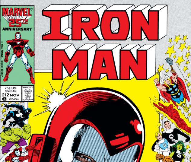 Iron Man (1968) #212 Cover