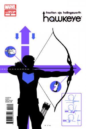 Hawkeye (2012) #2 (Aja 5th Printing Variant)
