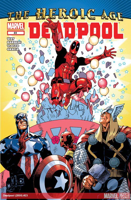 Deadpool (2008) #23