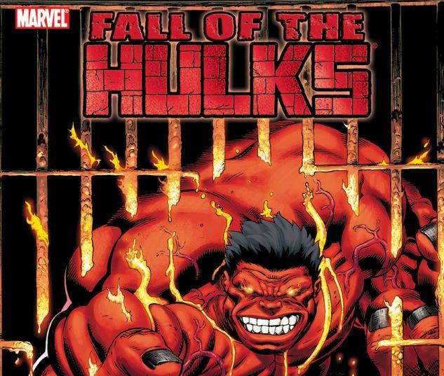 HULK: FALL OF THE HULKS - RED HULK (TRADE PAPERBACK) - cover art