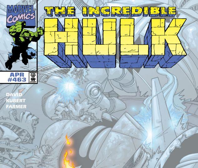 Incredible Hulk (1962) #463 Cover