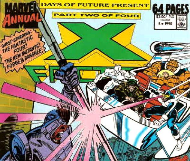 X-Factor Annual (1986) #5