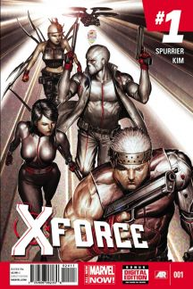 X-Force (2014) #1 cover by Rock-He Kim
