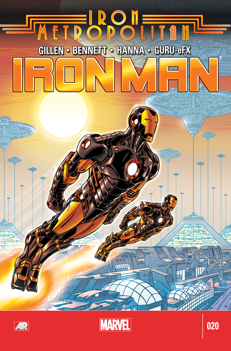 Iron Man (2012) #20