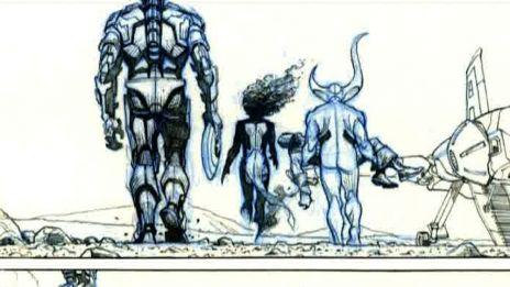Marvel AR: Art Evolution from Avengers #1