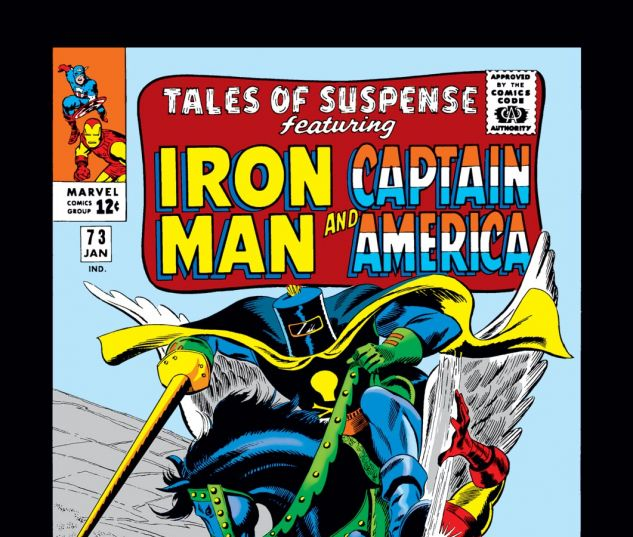 Tales of Suspense (1959) #73 Cover
