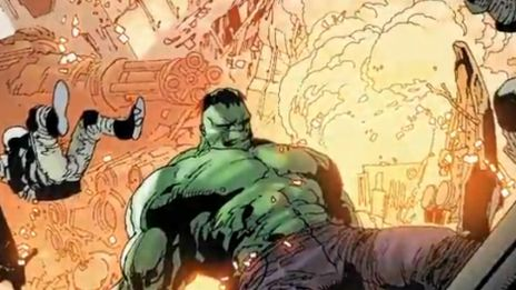 Marvel AR: Indestructible Hulk #1 Art Evolution