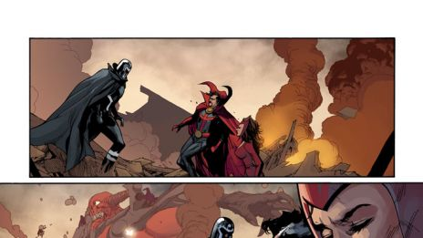 Avengers & X-Men: AXIS #3 preview art by Leinil Yu