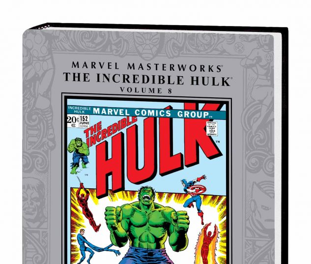 MARVEL MASTERWORKS: THE INCREDIBLE HULK VOL. 8 HC