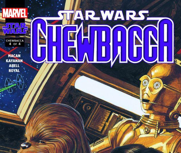 Star Wars: Chewbacca (2000) #4