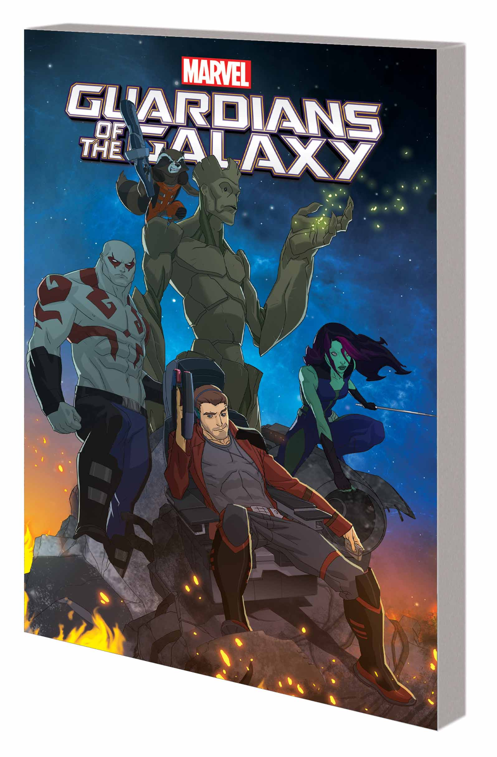 Marvel Universe Guardians of the Galaxy (Digest)
