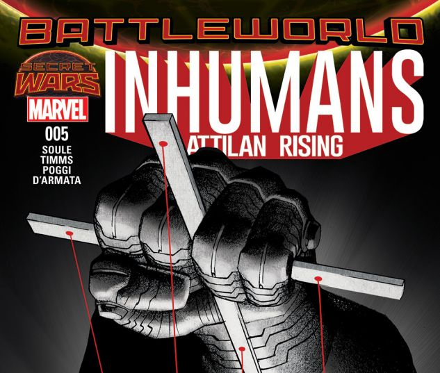 Inhumans: Attilan Rising (2015) #5 Cover