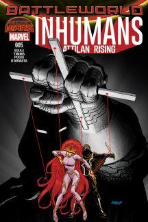 Inhumans: Attilan Rising #5