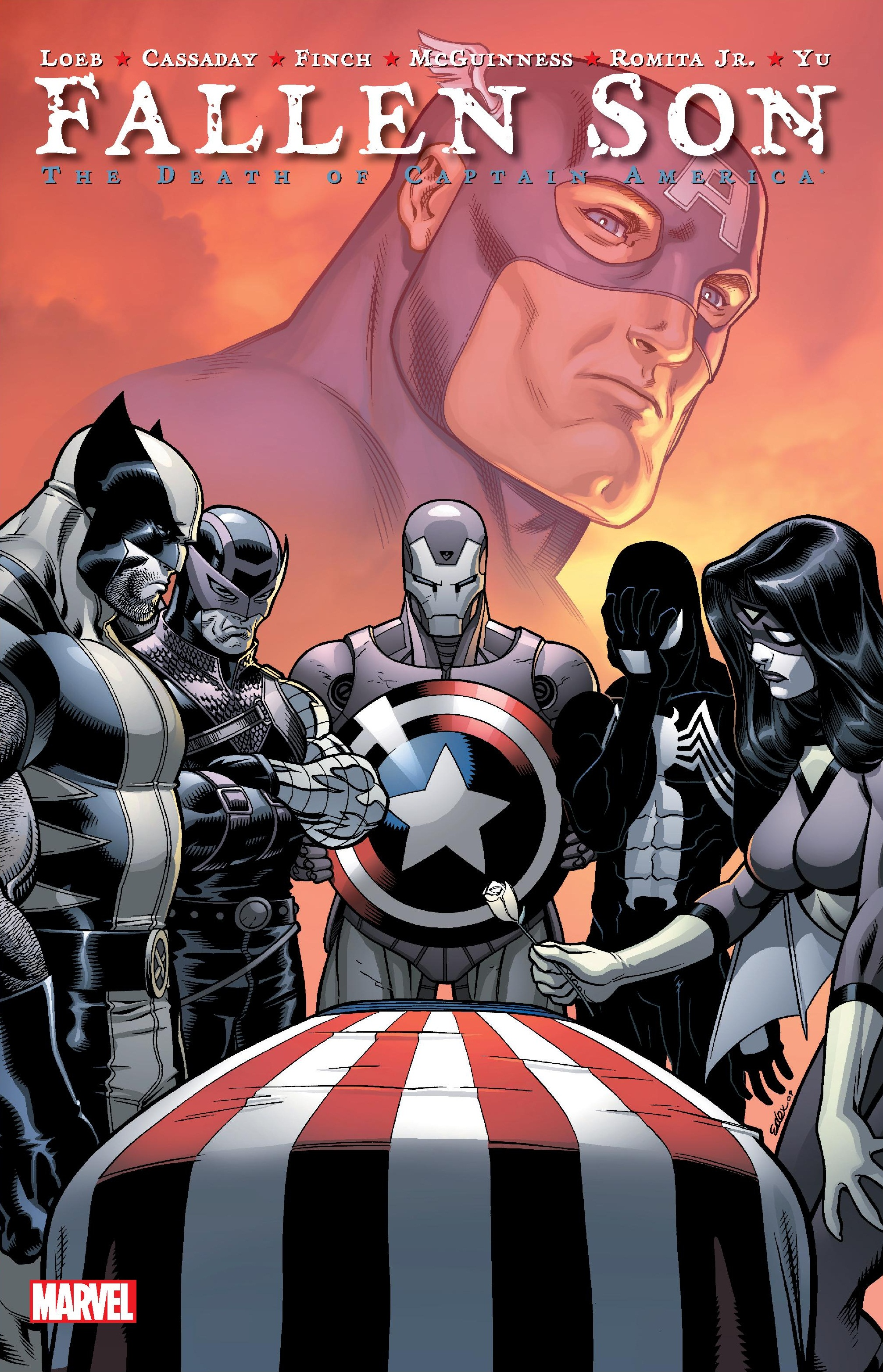 Fallen Son: The Death of Captain America (Trade Paperback)