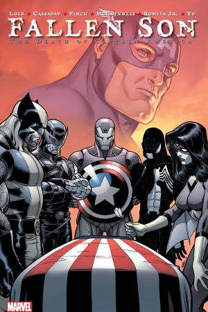 FALLEN SON: THE DEATH OF CAPTAIN AMERICA TPB [NEW PRINTING] (Trade Paperback)