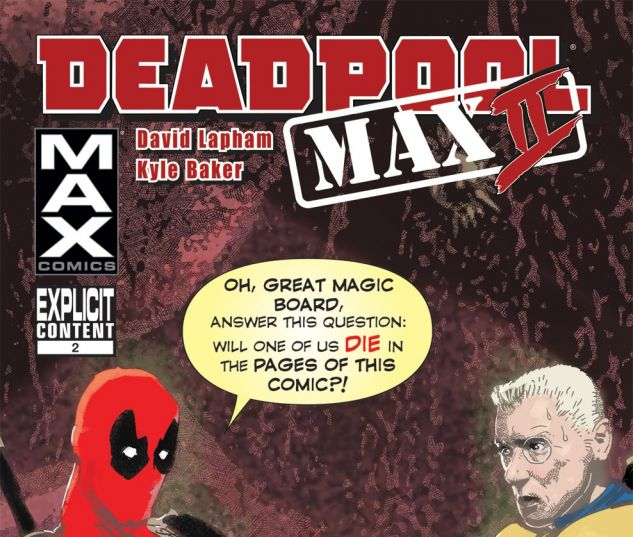 Deadpool Max 2 (2011) #2 Cover