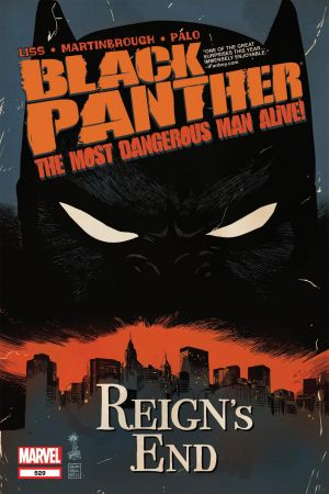 Black Panther: The Most Dangerous Man Alive  (2010) #529