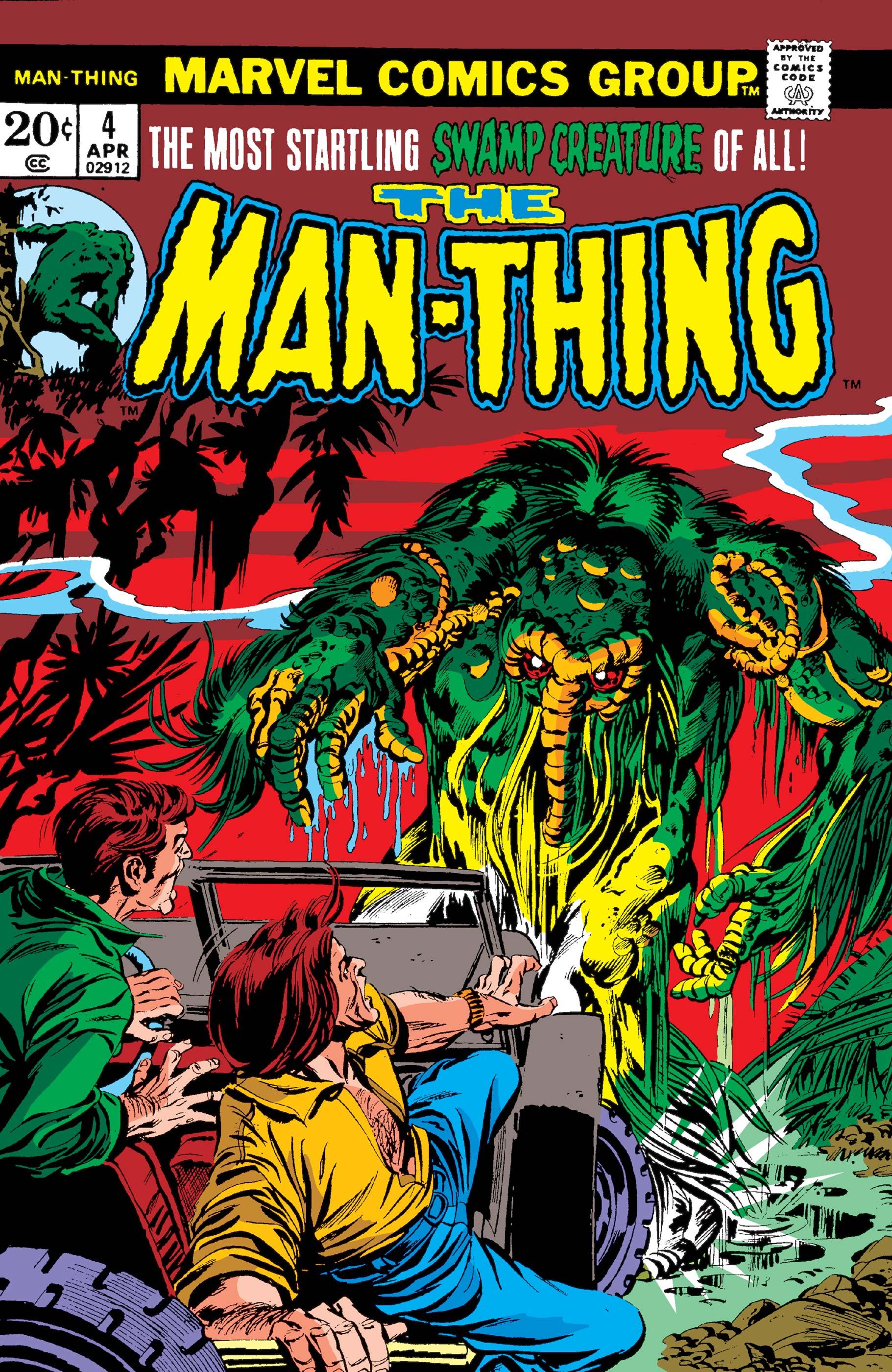 Man-Thing (1974) #4