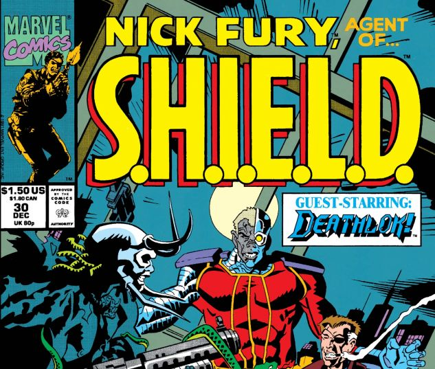Nick Fury, Agent of Shield (1989) #30