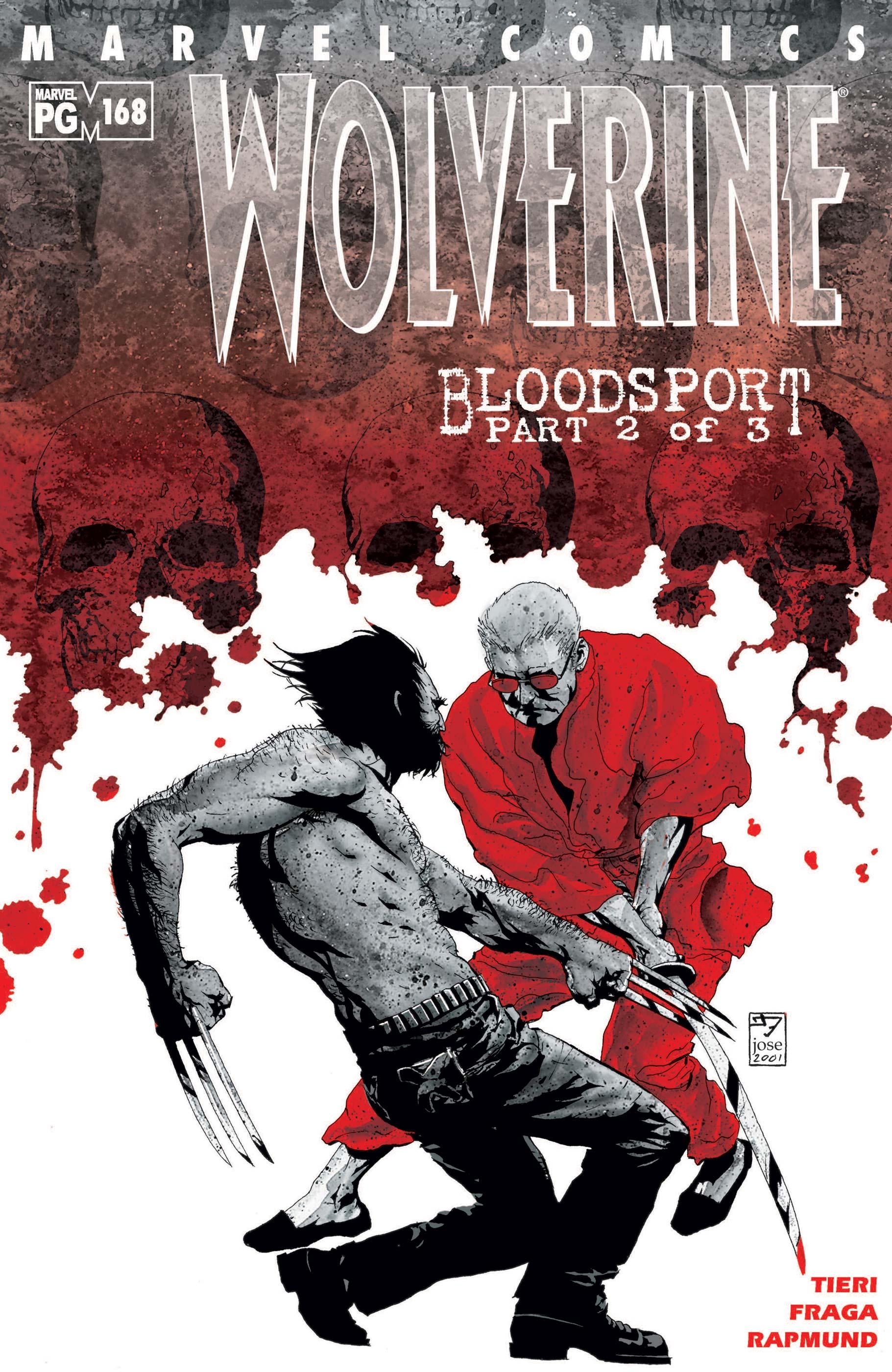 Wolverine (1988) #168
