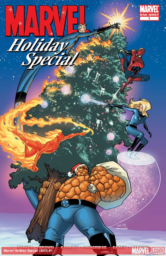 Marvel Holiday Special (2005) #1