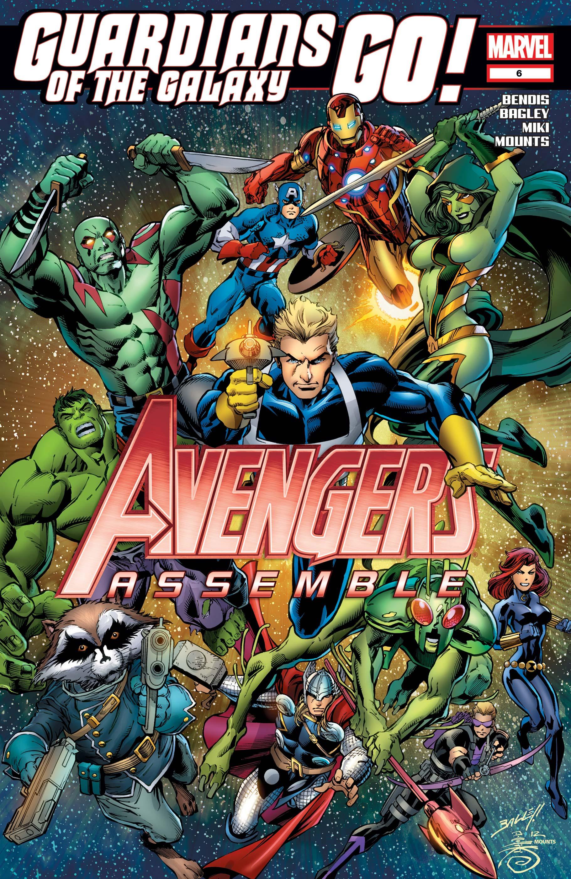Avengers Assemble (2012) #6