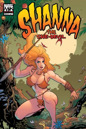 Shanna, the She-Devil (2005) #1