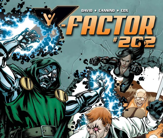 X-FACTOR (2005) #202