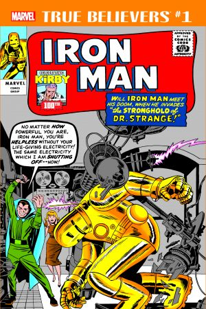 True Believers: Kirby 100th - Iron Man #1