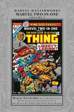 Marvel Masterworks: Marvel Two-In-One Vol. 2 (Hardcover)