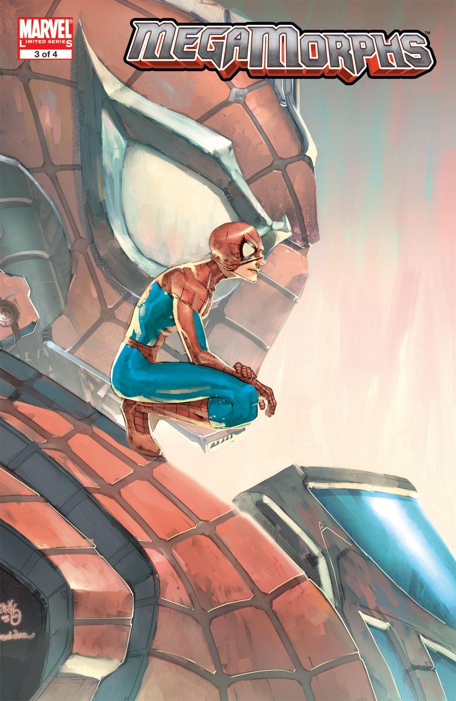 Details about  /Mega Morphs #3 November 2005 Marvel Comics SPIDER-MAN Cover