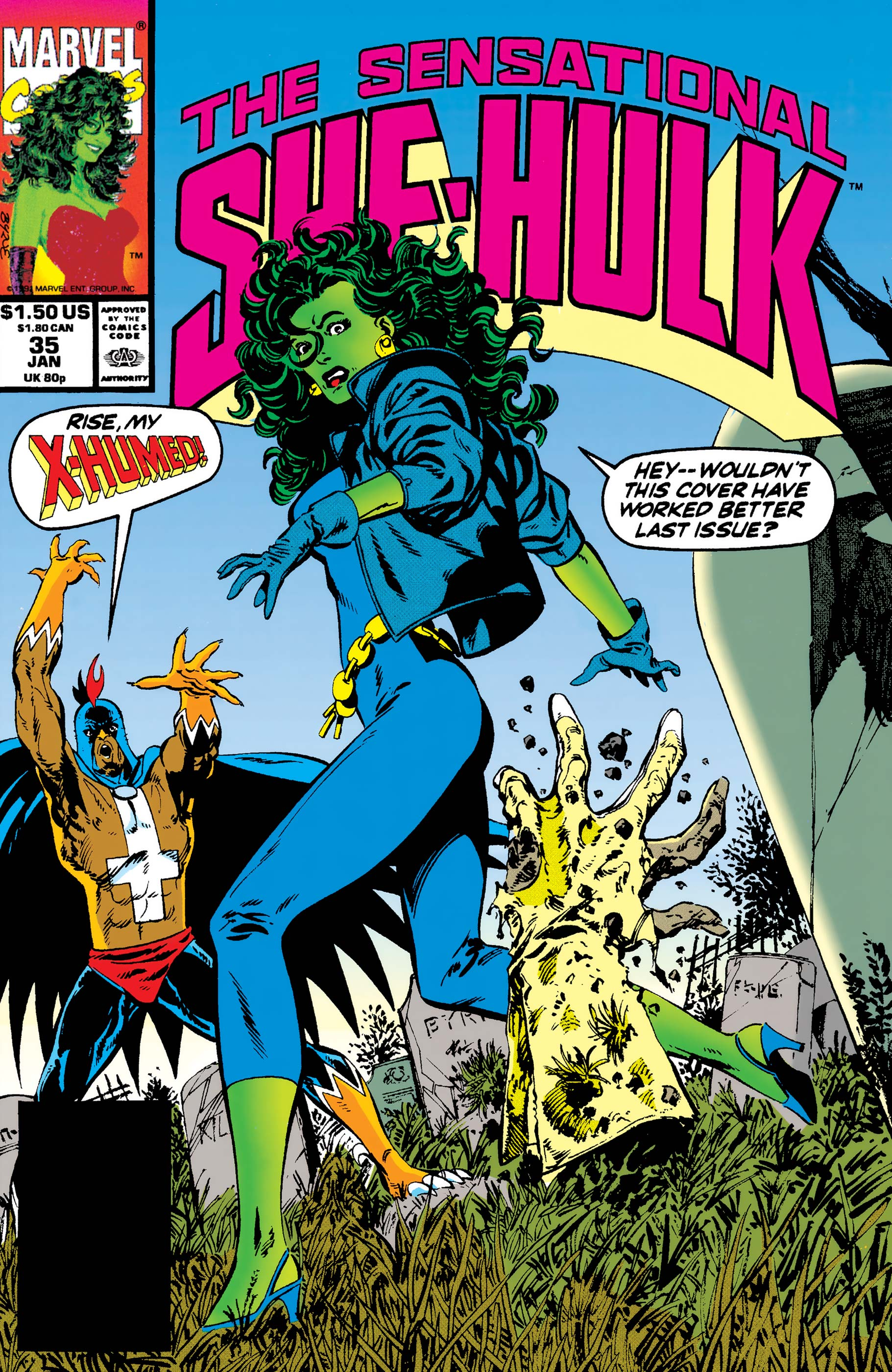 Sensational She-Hulk (1989) #35