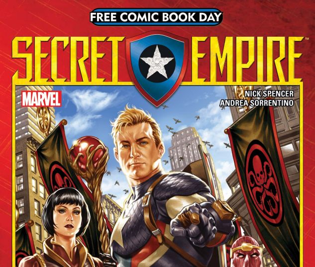 cover to Free Comic Book Day 2017 (Secret Empire) (2017)