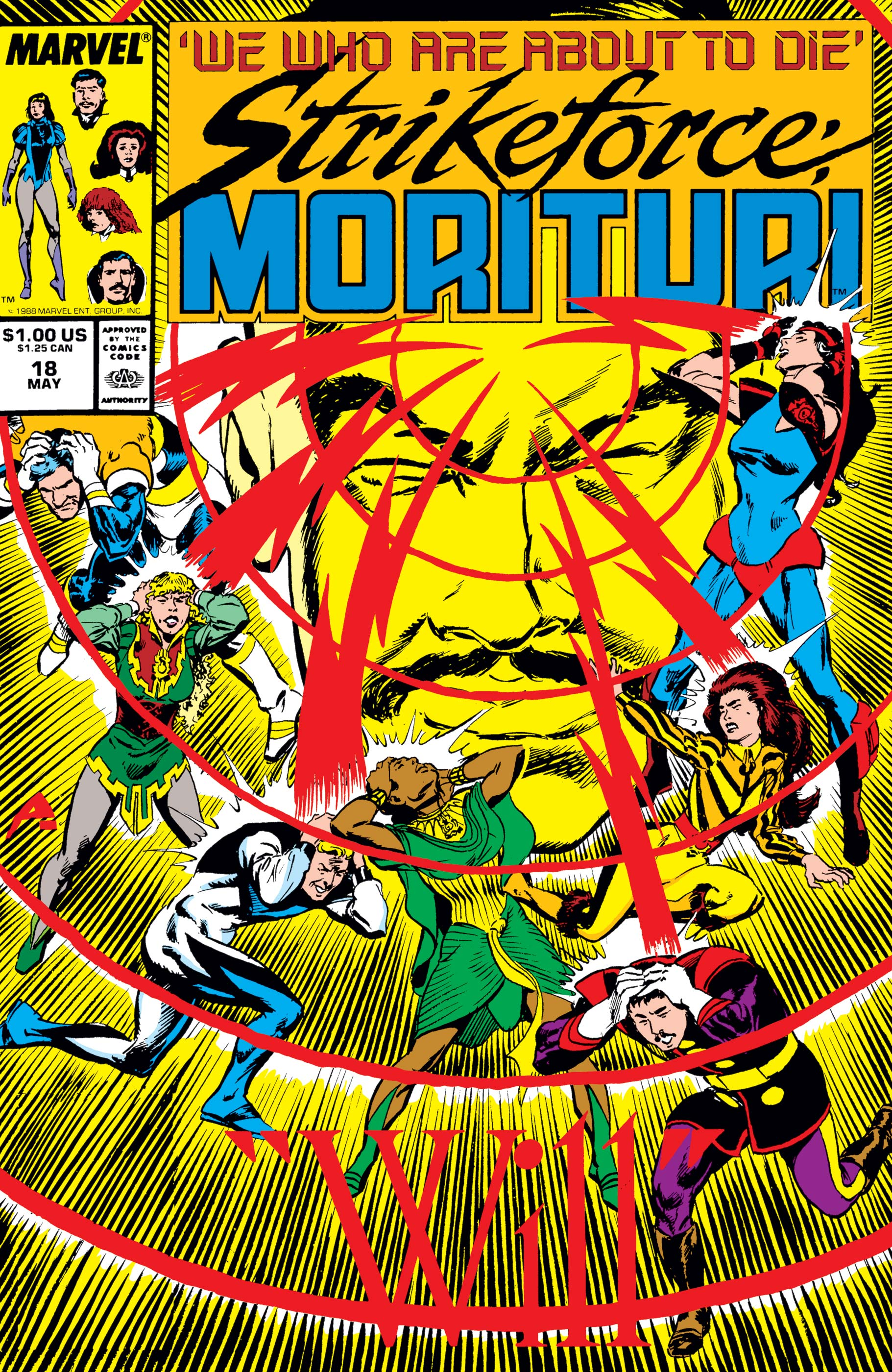 Strikeforce: Morituri (1986) #18