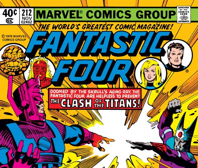 FANTASTIC FOUR (1961) #212