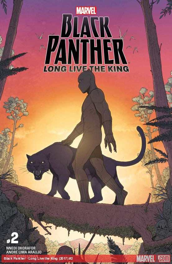 Black Panther - Long Live the King (2017) #2