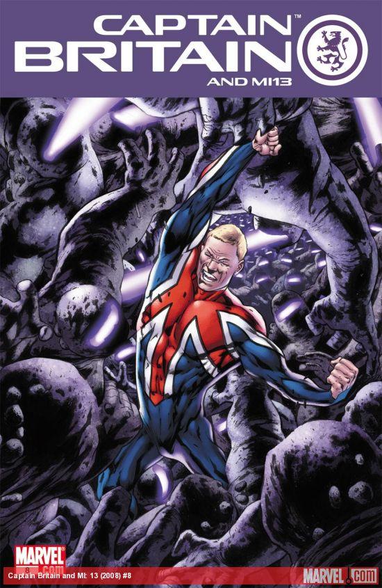 Captain Britain and MI: 13 (2008) #8