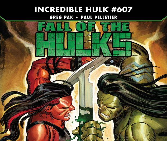 INCREDIBLE HULKS (2010) #607