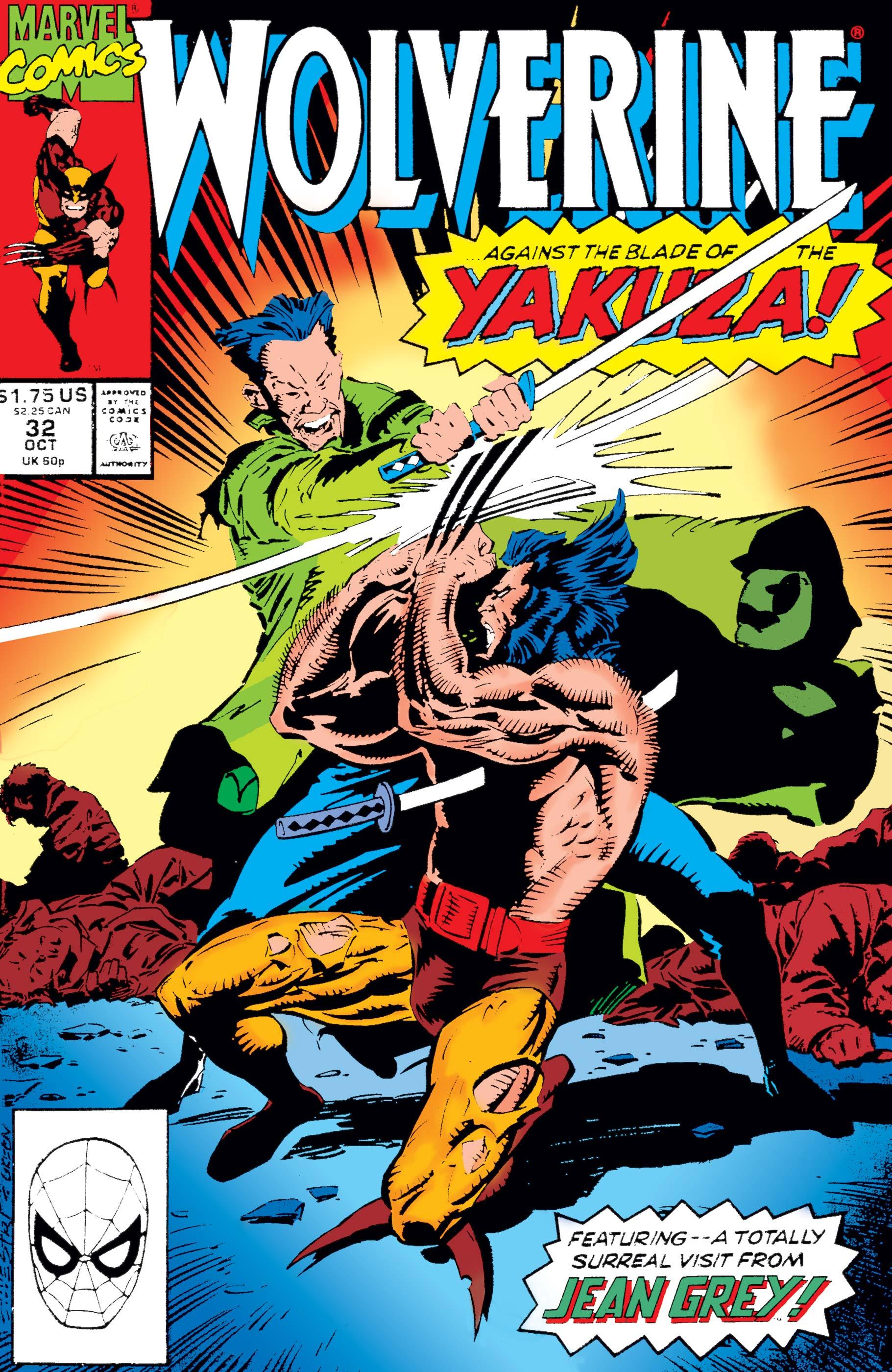 Wolverine (1988) #32
