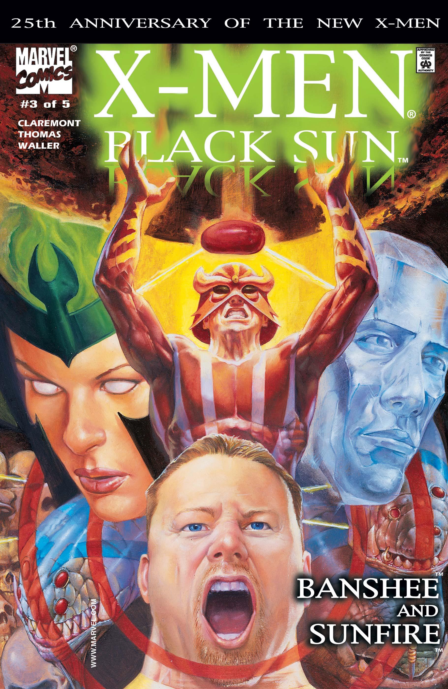 X-Men: Black Sun (2000) #3